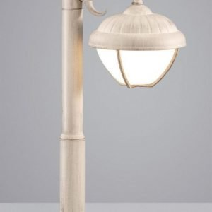 LED-pollarivalaisin Verdon 180x240x500 mm matala antiikkivalkoinen