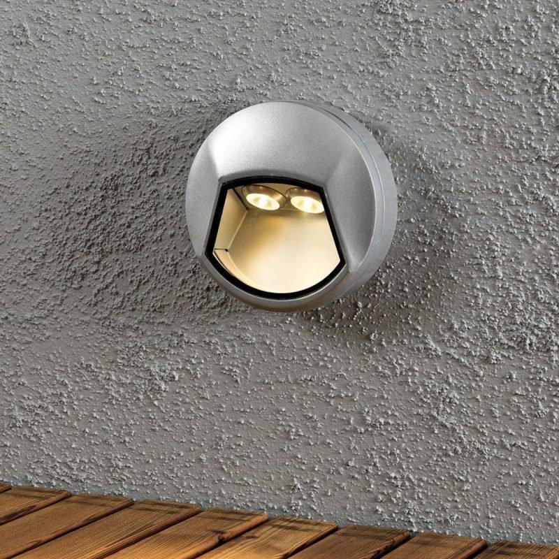 LED-porras-/muurivalaisin Chieri 7913-310 Ø 140x50 mm alumiini