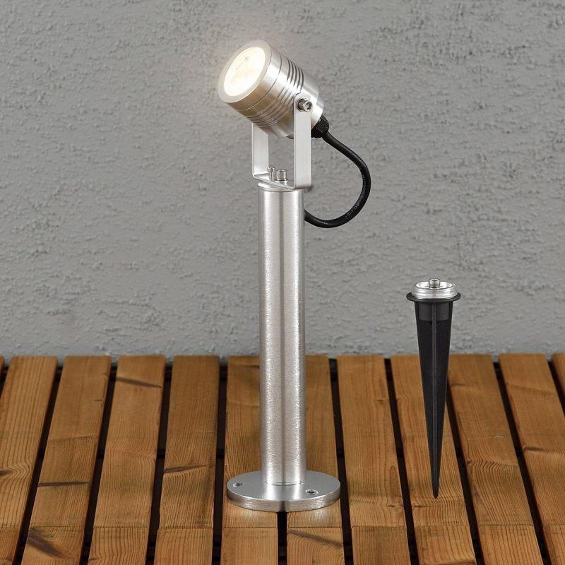 LED-puutarhaspotti Monza 7918-310 Ø 65x350 mm alumiini