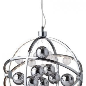 LED-riippuvalaisin Globe Ø 500x550 mm kromi