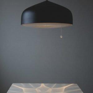 LED-riippuvalaisin Illusia Ø 500x300 mm grafiitinharmaa