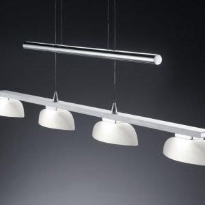 LED-riippuvalaisin Mette 910x55x1600 mm harjattu alumiini