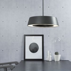 LED-riippuvalaisin Orbit Ø 360x350 mm musta