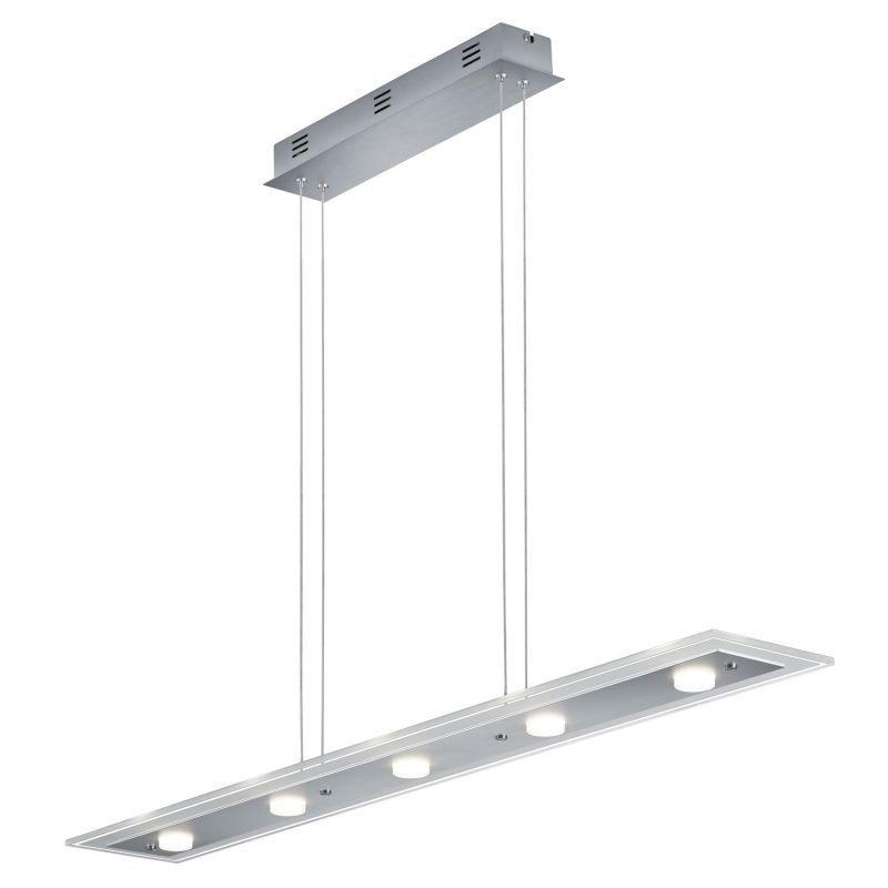LED-riippuvalaisin Oslo 1100x160x1200 mm alumiini