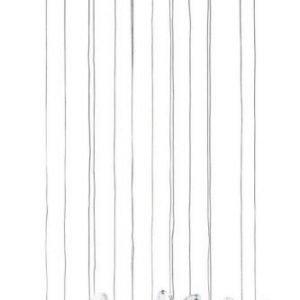 LED-riippuvalaisin Pianopoli Ø 50 cm kromi kristalli