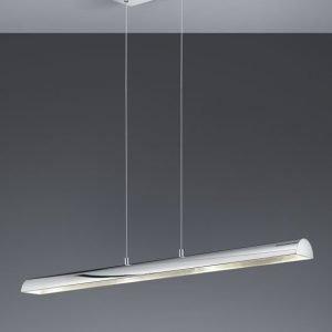 LED-riippuvalaisin Ramiro 1000x85x1500 mm kromi/hopea
