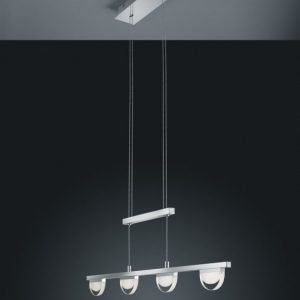 LED-riippuvalaisin Voltaire 780x15x1400 mm kromi