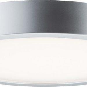 LED-seinä-/kattovalaisin Orbit 1x16.5 W Ø 300x55 mm mattakromi