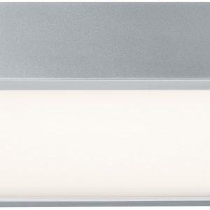 LED-seinä-/kattovalaisin Space 1x16.5W 300x300 mm mattakromi/valkoinen