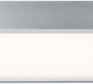 LED-seinä-/kattovalaisin Space 1x18.5 W 360x360 mm mattakromi/valkoinen