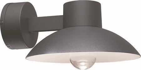 LED seinälyhty Edsvik IP54 tummanharmaa