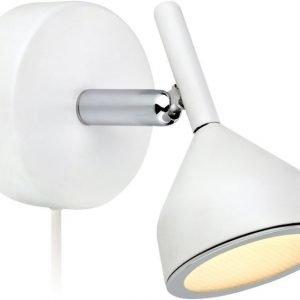 LED-seinäspotti Bell 120x115x105 mm valkoinen