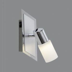 LED-seinäspotti Emilia 70x160x200 mm harjattu alumiini