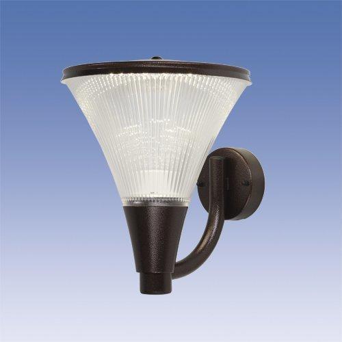 LED-seinävalaisin Aaria AA03APLED IP44 10W/840 antiikkipronssi ylöspäin