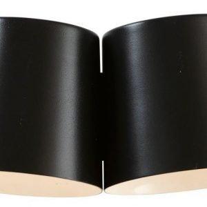 LED-seinävalaisin Bin 300x190x140 2-osainen mm musta