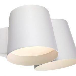 LED-seinävalaisin Bin 300x190x140 2-osainen mm valkoinen