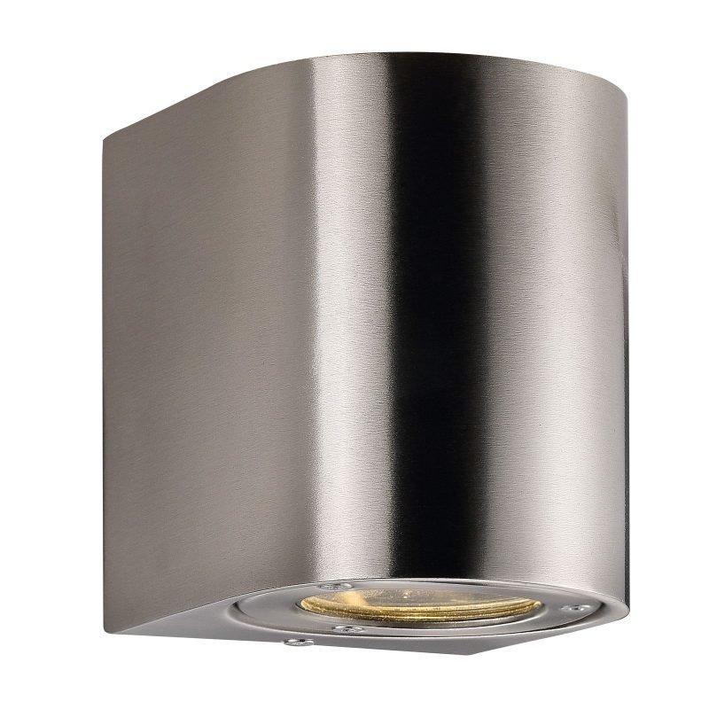 LED-seinävalaisin Canto 90x100x105 mm ylös/alas ruostumaton teräs