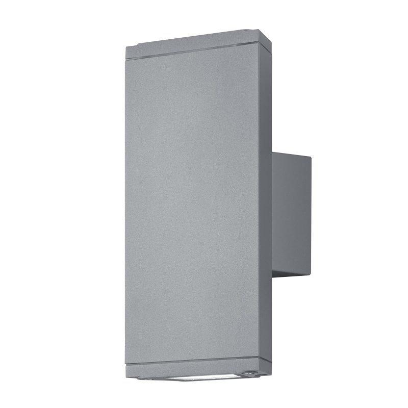 LED-seinävalaisin Colorado 90x65x200 mm ylös/alas titaani