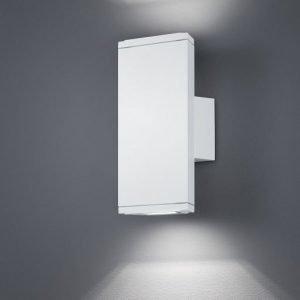 LED-seinävalaisin Colorado 90x65x200 mm ylös/alas valkoinen