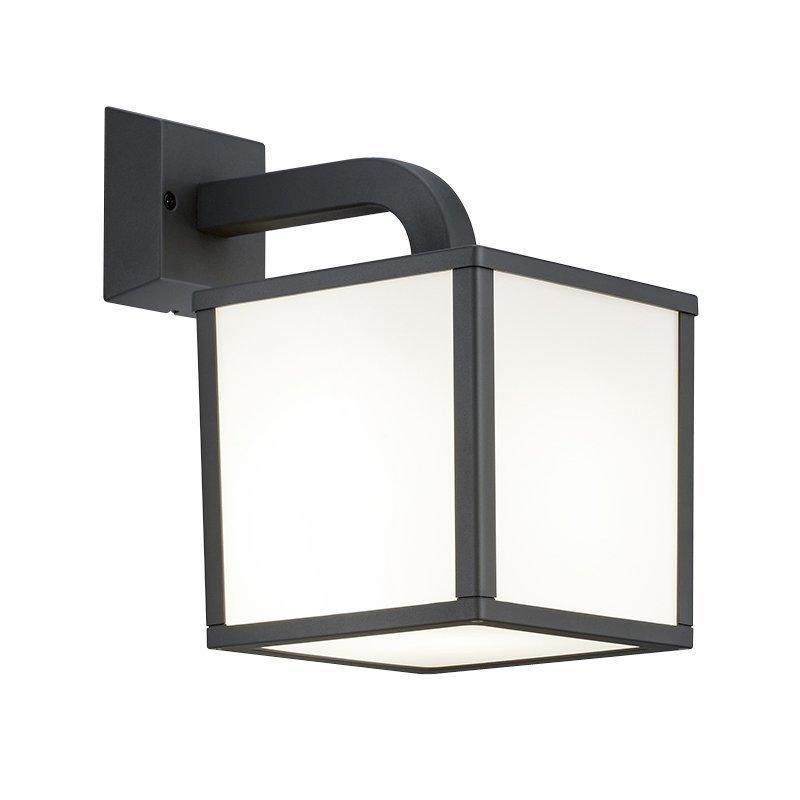 LED-seinävalaisin Cubango 180x270x280 mm antrasiitti