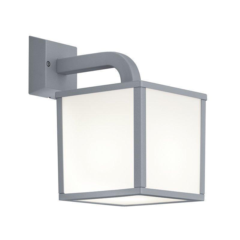 LED-seinävalaisin Cubango 180x270x280 mm titaani