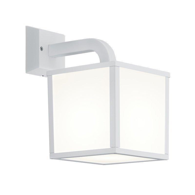 LED-seinävalaisin Cubango 180x270x280 mm valkoinen