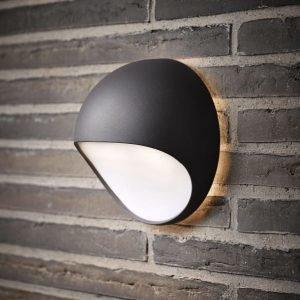 LED-seinävalaisin Fuel 202x115x202 mm harmaa
