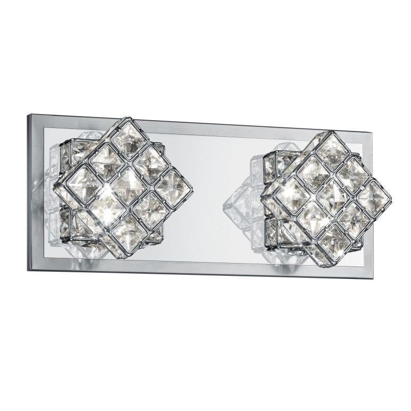 LED-seinävalaisin Grandeur 320x100x130 mm harjattu teräs