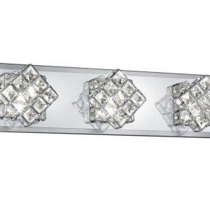 LED-seinävalaisin Grandeur 500x100x130 mm harjattu teräs