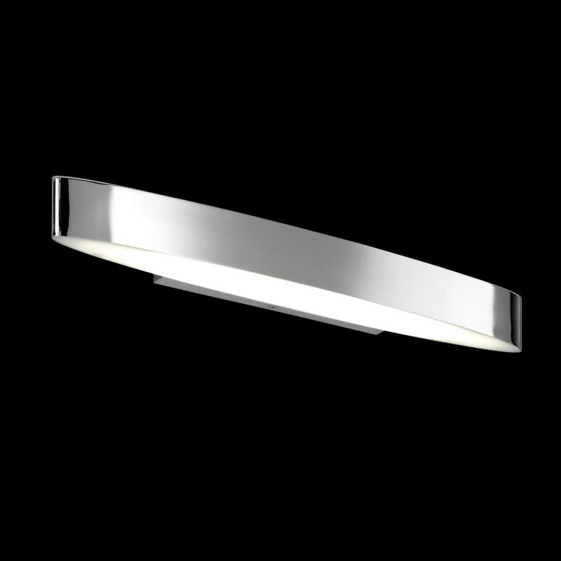LED-seinävalaisin H2O 2816 500x85x50 mm IP44 kromi