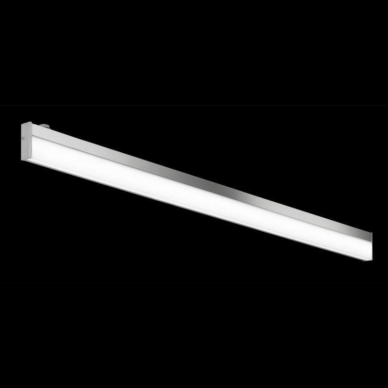 LED-seinävalaisin H2O 2817 1200x25x70 mm IP44 kromi