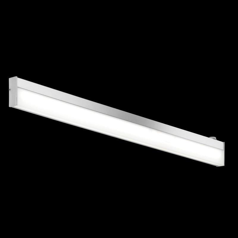 LED-seinävalaisin H2O 2817 880x25x70 mm IP44 kromi