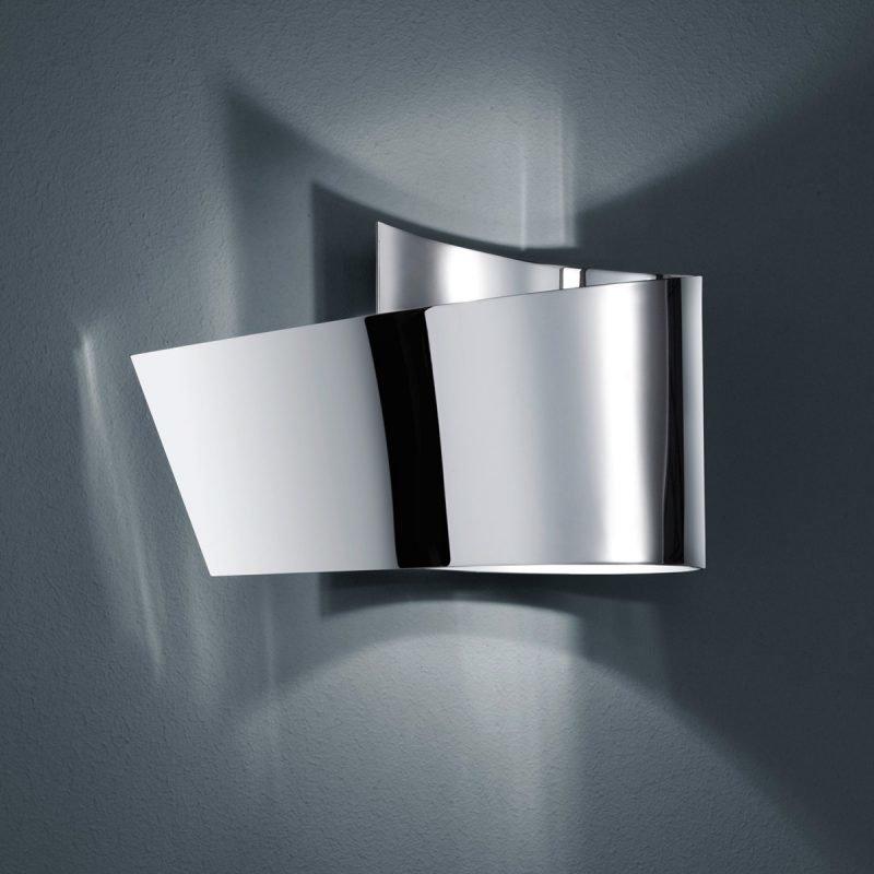 LED-seinävalaisin H2O 2822 200x95x120 mm IP44 kromi