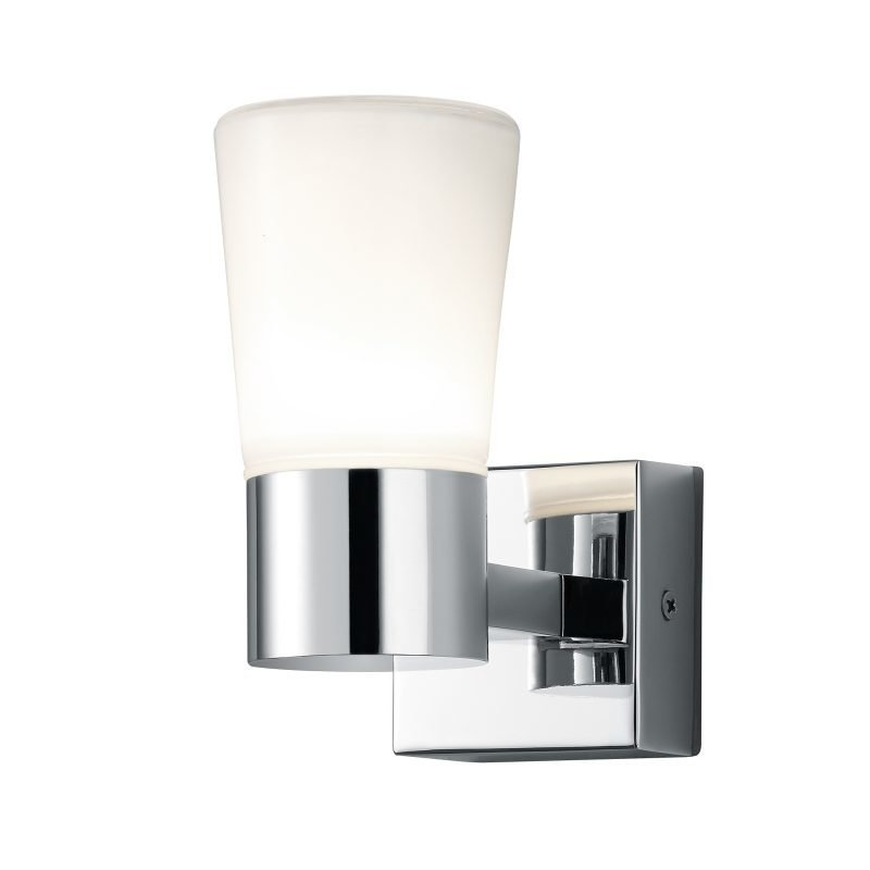LED-seinävalaisin H2O 70x130x145 mm kromi