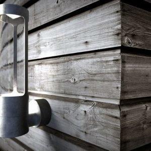 LED-seinävalaisin Helix 80x14x325 mm sinkitty teräs