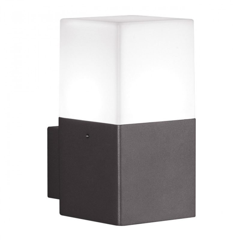 LED-seinävalaisin Hudson 85x115x170 mm antrasiitti