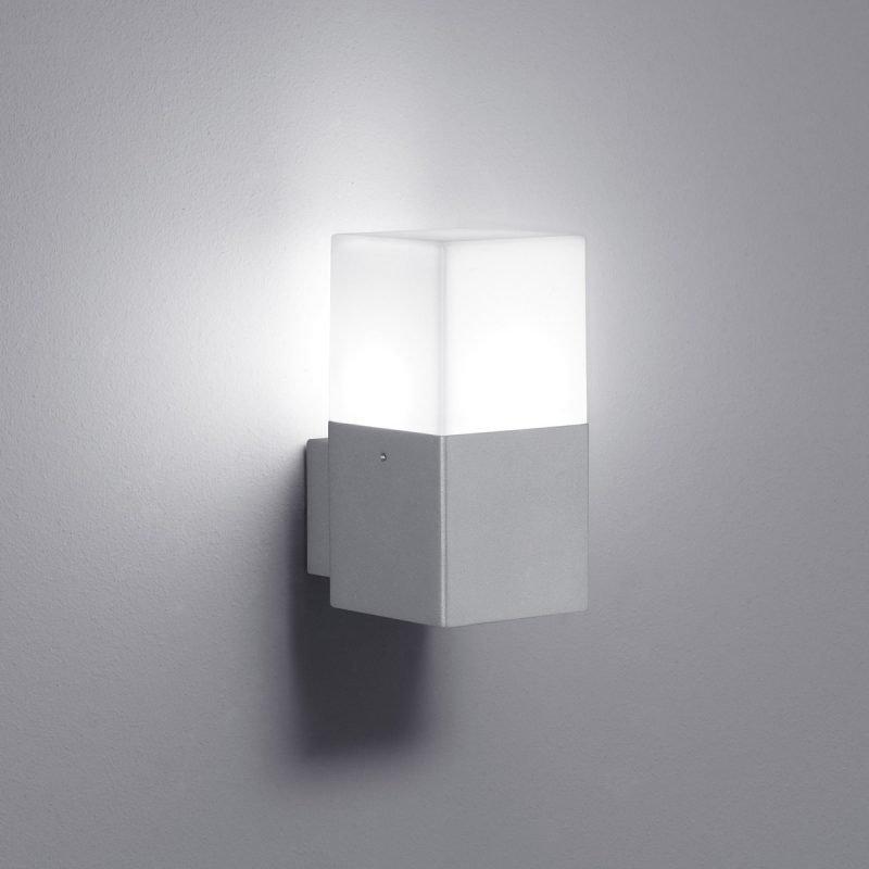 LED-seinävalaisin Hudson 85x115x170 mm titaani