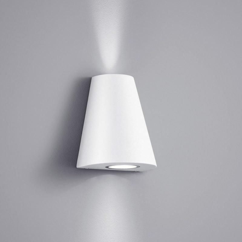 LED-seinävalaisin Niagara 140x100x170 mm ylös/alas valkoinen
