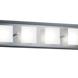 LED-seinävalaisin Piazza 450x120x80 mm kromi