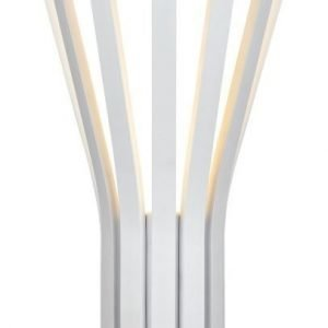 LED-seinävalaisin Rib 220x125x435 mm valkoinen
