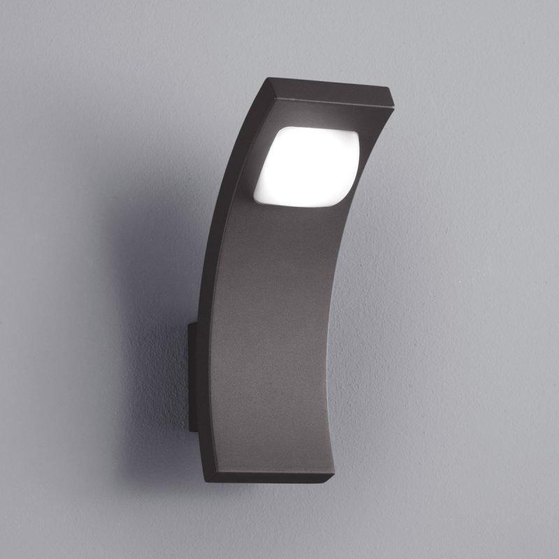 LED-seinävalaisin Seine 75x120x220 mm antrasiitti