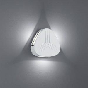 LED-seinävalaisin Spree Ø 140x40 mm valkoinen