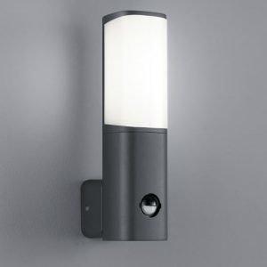 LED-seinävalaisin Ticino 70x110x270 mm antrasiitti liiketunnistimella