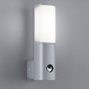LED-seinävalaisin Ticino 70x110x270 mm titaani liiketunnistimella