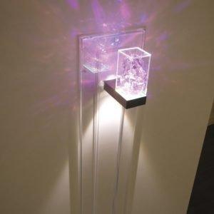 LED-seinävalaisin Toive kirkas 2x1W 1650 mm pinta-asennukseen