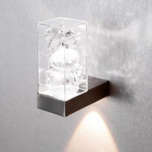 LED-seinävalaisin Toive kirkas 2x1W suoraan seinäasennukseen