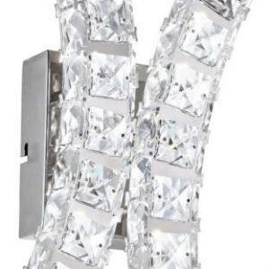 LED-seinävalaisin Toneria kromi kristalli
