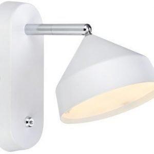 LED-seinävalaisin Tratt 175x115x185 mm valkoinen