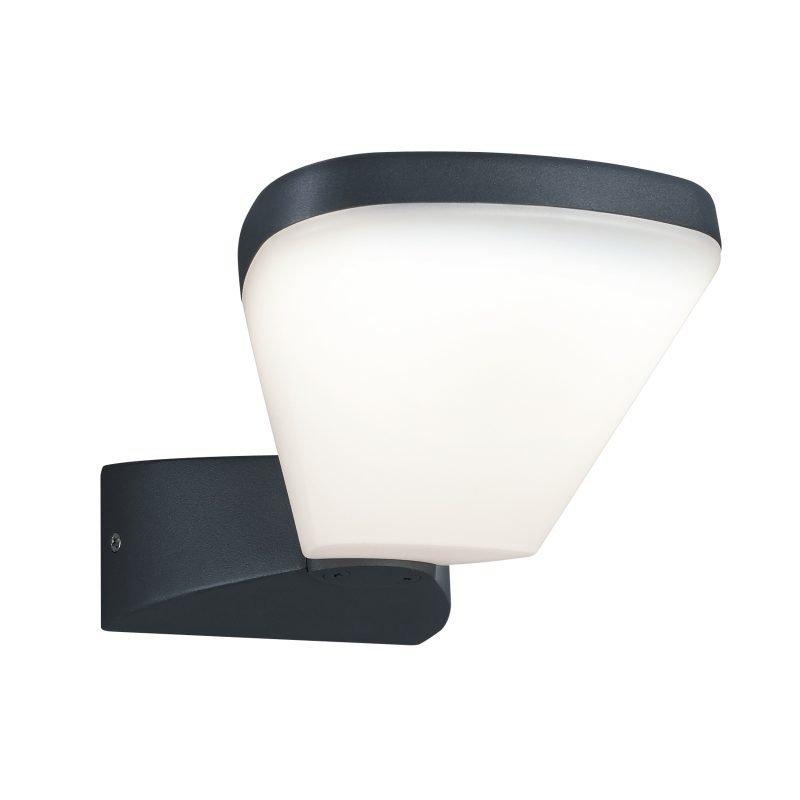LED-seinävalaisin Volturno 130x280x90 mm antrasiitti