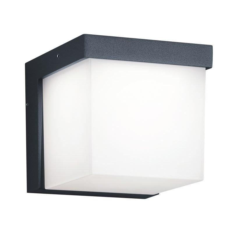 LED-seinävalaisin Yangtze 117x139x117 mm antrasiitti